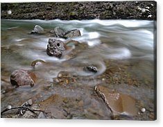 East Fork Of The Hood River Acrylic Print