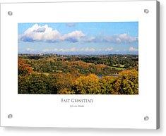 East Grinstead Acrylic Print