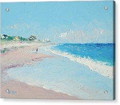 East Hampton Beach Acrylic Print