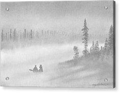 East Inlet Acrylic Print