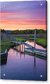 East Moriches Sunset Acrylic Print