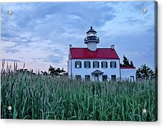 East Point At Twilight Acrylic Print