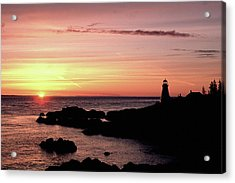 East Quoddy Head Sunup Acrylic Print