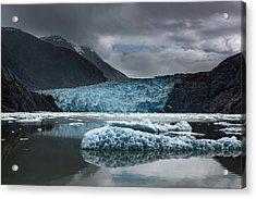 East Sawyer Glacier Acrylic Print