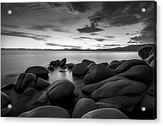 Acrylic Print featuring the photograph East Shore Serenity - Lake Tahoe by Brad Scott