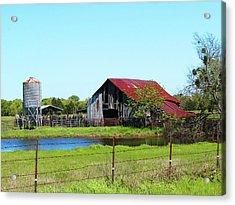 East Texas Barn Acrylic Print