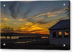 East Texas Sunset Acrylic Print by Craig David Morrison