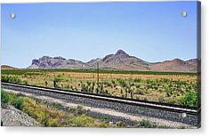 East To West Acrylic Print