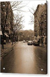 East Village In Winter Acrylic Print