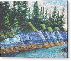 Eastbay Cut Nova Scotia Acrylic Print