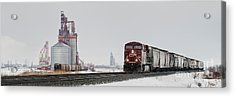 Eastbound Empties Acrylic Print