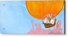 Easter Balloon Acrylic Print