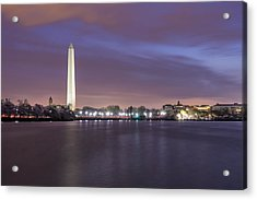 Acrylic Print featuring the photograph Easter Blues by Edward Kreis