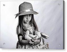 My Bunny Acrylic Print