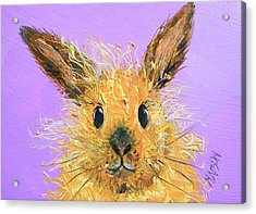 Easter Bunny  Painting - Poppy Acrylic Print