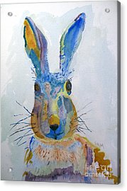 Easter Bunny Acrylic Print by Sandy McIntire