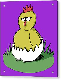 Easter Chicken Acrylic Print