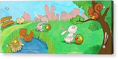 Easter Egg Hunt Acrylic Print