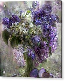 Easter Lilacs Acrylic Print