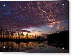 Easter Sonrise Acrylic Print by Dan Wells
