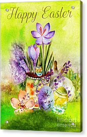 Easter Time Acrylic Print