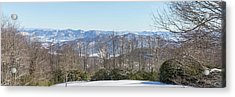 Acrylic Print featuring the photograph Easterly Winter View by D K Wall