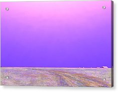 Acrylic Print featuring the digital art Eastern Horizon by Kerry Beverly