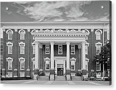 Eastern Kentucky University Building Acrylic Print by University Icons