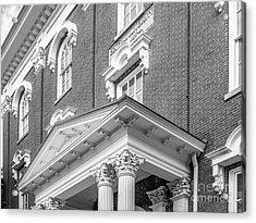 Eastern Kentucky University Crabbe Library Detail Acrylic Print