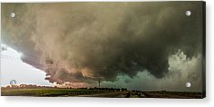 Eastern Nebraska Moderate Risk Chase Day 007 Acrylic Print