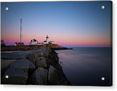 Acrylic Print featuring the photograph Eastern Point Sunset 2 by Brian Hale