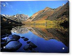 Eastern Sierra Reflection Acrylic Print