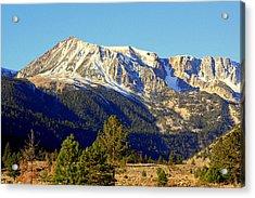 Acrylic Print featuring the photograph Eastern Sierras by Lynn Bawden