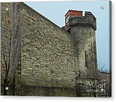 Eastern State Penitentiary East Side Acrylic Print by Emmy Marie Vickers