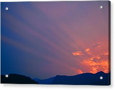 Eastern Sunrise Acrylic Print