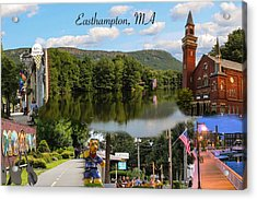 Easthampton Ma Collage Acrylic Print