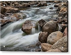 Acrylic Print featuring the photograph Easy Flowing by James BO Insogna