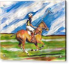 Easy Gallop Acrylic Print by Debora Cardaci