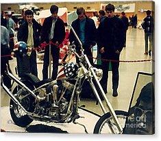 Easy Rider Bike Acrylic Print by Brent Easley