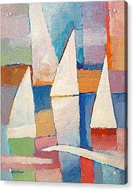 Easy Sailing Acrylic Print by Lutz Baar