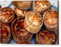 Eat All The Pies Acrylic Print by Jez C Self