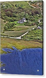 Eat Fire Spring Road Polpis Nantucket Island  Acrylic Print