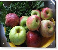 Eat Healthy Stay Healthy Acrylic Print
