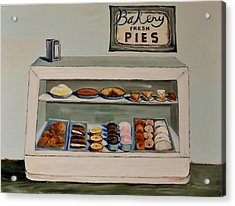 Eat More Pie Acrylic Print