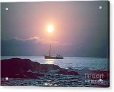 Eastern Rig Acrylic Print by Jim Beckwith