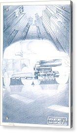 Eaton Electric Van Acrylic Print