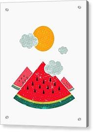 Eatventure Time Acrylic Print by Mustafa Akgul
