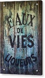 Eaux De Vies Acrylic Print