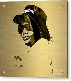 Eazy E Straight Outta Compton Acrylic Print by Marvin Blaine