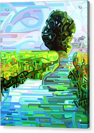Ebb And Flow - Coppped Acrylic Print